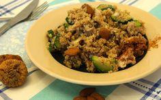 Couscous met groente, kip, vijgen & amandel