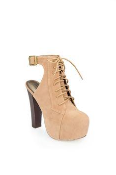 ShopSosie Style : Victoria platform boot  $65.00