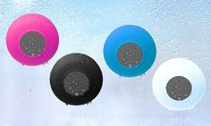 Merkury Bluetooth Shower Speaker: Merkury Innovations Bluetooth Shower Speaker with Mic