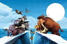 Ice Age: Invitaciones o Tarjetas para Imprimir Gratis.