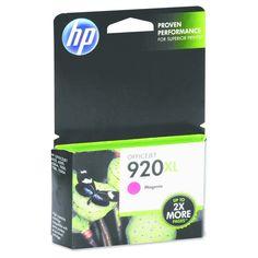HP 920XL High Yield Magenta Original Ink Cartridge (CD973AN_140)