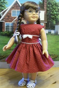 1950's red and white sleeveless frock | Flickr - Photo Sharing!