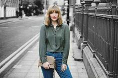 @fashion_panic wearing Wrap London - Rochana Blouse www.wraplondon.co.uk
