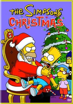 christmas movie pics | The Simpsons Christmas Movie Poster, The Simpsons Christmas DVD Cover