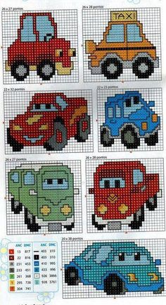 I tried to collect more circuits from cartoons to … – … – knitting charts Cross Stitch Disney, Cross Stitch For Kids, Cross Stitch Baby, Cross Stitch Charts, Cross Stitch Designs, Cross Stitch Patterns, Cross Stitching, Cross Stitch Embroidery, Embroidery Patterns