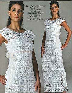 Voici des modèles des robes au crochet avec leurs digrammes gratuits ou leurs grilles gratuites.. Le premier modèle de robe au crochet Et aussi les diagrammes gratuits de cette robe au crochet Un autre modèle de robe au crochet Et aussi les diagrammes...