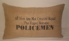 beautiful gift for any law enforcement family we know