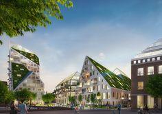 Galería de MVRDV y SDK Vastgoed diseñarán complejo residencial sustentable en Eindhoven - 3