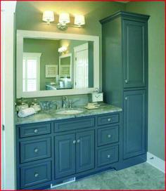 Bathroom Linen Storage Ideas Unique Ideas for New Vanity and Linen Cabinet Guest Bathrooms, Budget Bathroom, Bathroom Renovations, Bathroom Ideas, Modern Bathroom, Bathroom Designs, Shower Designs, Rustic Bathrooms, Remodel Bathroom