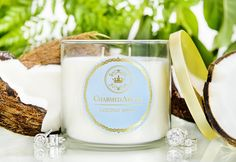 Charmed Aroma - Jewelry Candles and Bath Bombs! Candle Rings, Jewelry Candles, Vanilla Cream, Crystal Collection, Cinnamon Apples, Scented Candles, Fragrance, Coconut, Crystals