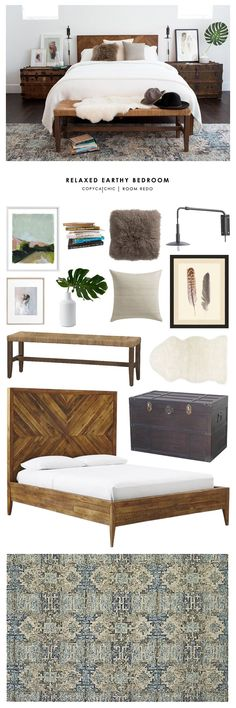 Copy Cat Chic Room Redo   Relaxed Earthy Bedroom   Copy Cat Chic   Bloglovin'