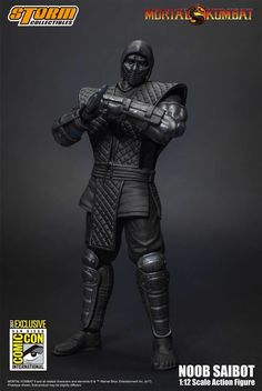 More 2017 SDCC 1:12 Mortal Kombat Noob Saibot Action Figure Images & Info From Storm Collectibles