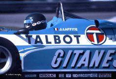 Jacques Laffite Ligier JS14 MATRA
