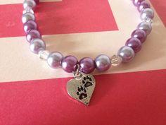 PET FASHION stretch Pearl collar Fancy Fun Bling for dogs... Wedding, photos, pretty Purple  on Etsy, $6.95