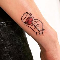 11 Wine Tattoos That'll Make You Wind Down With a Glass
