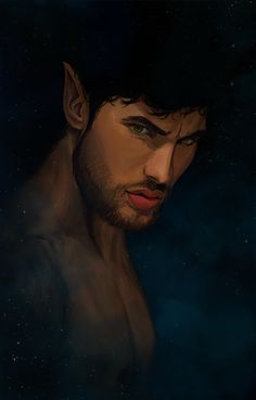 Azriel [bloodydamnit]  -lol i know this face will standout to me later, and if I don't repin this I'll never be able to figure out where that pouty lip expression came from. xD Ahaha