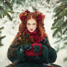 Russian Fairy Tales Translated into Fashion-Forward Portraits Photographer Margarita Kareva