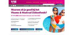 Website Vlaams & Neutraal Ziekenfonds
