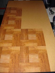 Quick and Easy Resurface for Folding Tables (and Other Tables Too!)