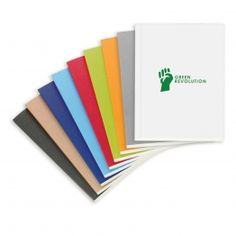 Eco Notebook - Available in many colours.
