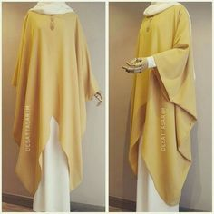 hijab chic Hijab fashion cover body new dgn for ladeis , Moslem Fashion, Arab Fashion, Islamic Fashion, Modest Dresses, Modest Outfits, Modest Fashion, Fashion Dresses, Hijab Outfit, Hijab Dress