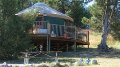 Ditch the tiny tent and stay in these yurts, trailers, and canvas tents instead. All you have to do is show up and camp, no set-up or wrangling poles required Yurt Camping, Glamping, Flathead Lake, Bigger Arms, Canvas Tent, Park Around, State Parks, Gazebo, National Parks
