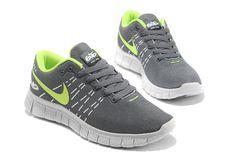 5f1e1db8ae Goedkoop Running Heren Nike Free 6.0 Middengrijs Groen Geel Nieu