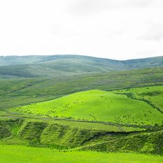 Sperrin Mountains in County Tyrone, Northern Ireland