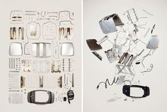 Dismantled and exposed. // EXAMPLE.PL