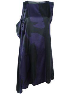 ANN DEMEULEMEESTER Asymmetric Mini Dress. #anndemeulemeester #cloth #dress