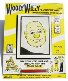Wooly Willy >> we were so easily amused...
