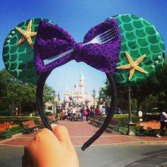 Disney Ariel Mouse ears headband