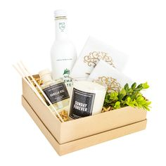 Home Sweet Home - White Olive Gifts Rosemary Water, Curated Gift Boxes, New Homeowner, Olive Tree, Hostess Gifts, Sweet Home, Stuffed Peppers, Candles, Pure Products