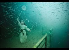 Underwater Photography Exhibit By Andreas Frank Debuts On Sunken Ship
