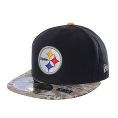 La gorra 5950 Pittsburgh #Steelers de #NewEra está diseñada para que apoyes a tu equipo de fútbol americano con estilo y elegancia. #NFL Pittsburgh Steelers, Nfl, New Era Cap, Hats, American Football, Football Team, Elegance Fashion, Caps Hats, Style