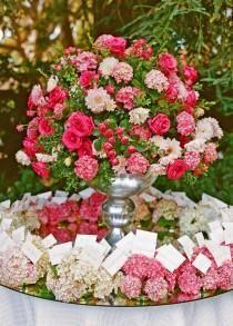 Idées déco pour un mariage en rose
