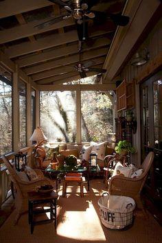 65 Beautiful Farmhouse Front Porch Decorating Ideas