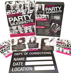 Bachelorette Party Games - Mugshots