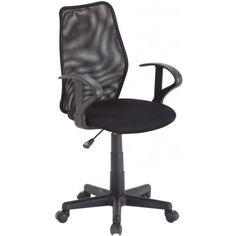 Optez pour cette superbe chaise de bureau qui vous garantit un confort optimal. Son dossier ergonomique est réglable et inclinable, doté d'une large assise, ...