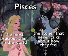 Pisces Traits, Zodiac Signs Pisces, Zodiac Signs Astrology, Zodiac Memes, Zodiac Star Signs, Zodiac Horoscope, Zodiac Facts, Sagittarius, Mbti