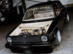 1980 VW Golf Cabriolet - Domien Courtens - Eurotuner Magazine