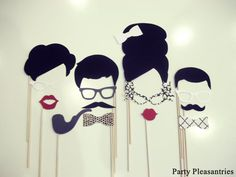 Party Pleasantries The MADMEN & WOMEN by PartyPleasantries on Etsy, $22.00