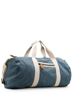HEbyMango - SALE - COTTON CANVAS DUFFLE BAG - RM169