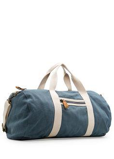 HEbyMango - SALE - COTTON CANVAS DUFFLE BAG - RM169