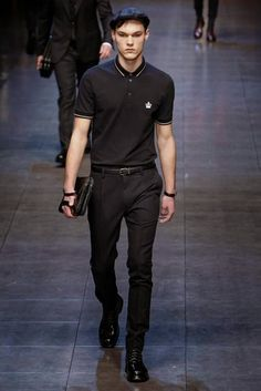 Dolce & Gabbana Fall/Winter 2015 - Milan Fashion Week - Male Fashion Trends