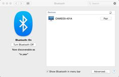 How to set up bluetooth with Silhouette CAMEO 3 for wireless cutting.