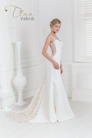 wedding dress Canela Каталог, страница товара — Tina Valerdi
