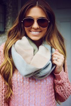 What You Love Blanket Scarf: Multi