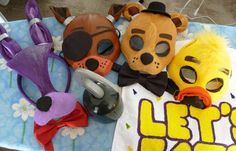 Five Nights at Freddy's Foxy the Pirate Mask by ShopBHawk on Etsy