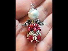 "DIY Tutorial Orecchini ""Beans"" incastonatura Netted Rivoli 12 e 14 mm Beading Projects, Beading Tutorials, Beaded Jewelry Patterns, Beading Patterns, Earring Tutorial, Diy Tutorial, Rhinestone Crafts, Beaded Angels, Twin Beads"